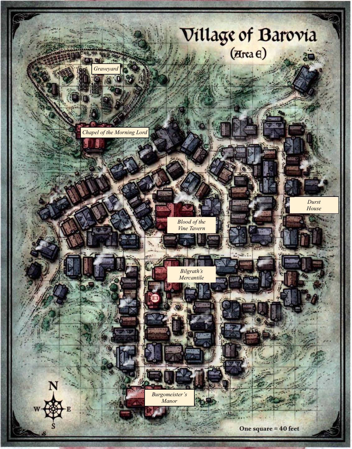 The Curse of Strahd Annals - Trials and Trepidations in Varg